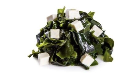 Салат Вакамэ с тофу