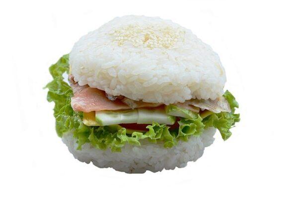 Кунсей унаги бургер