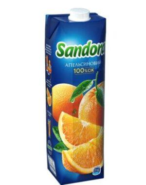 """Апельсиновый сок """"Sandora"""""""
